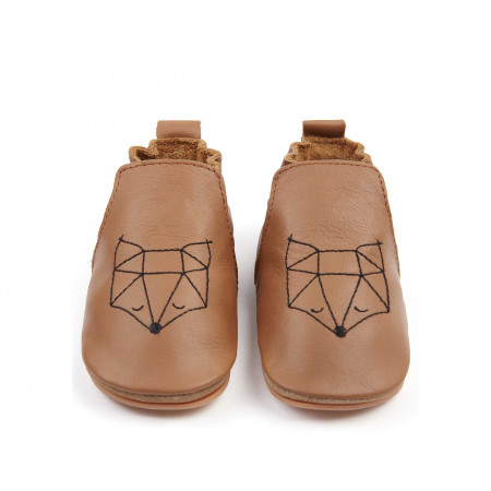 DUBI | Cognac Leather / Fox