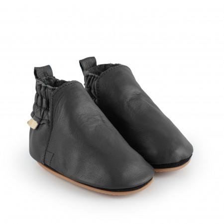 ILAN | Black Leather
