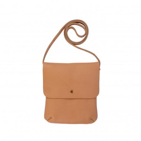LEO SHOULDERBAG | Nude Leather