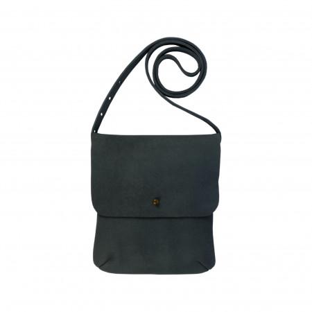 LEO SHOULDERBAG | Petrol Leather