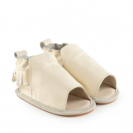 NOA | Cream Leather