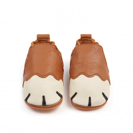 PAWS | Cognac Leather