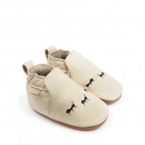 ANTS | Cream Leather