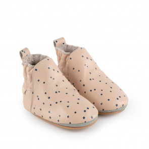 Ilan Dot lining | Pastel Pink Leather