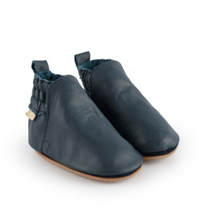 ILAN | Navy Leather