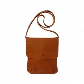 LEO SHOULDERBAG   Camel Leather