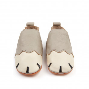 PAWS | Pale Grey Leather