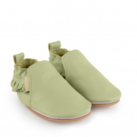 BAO | Milky Green Leather