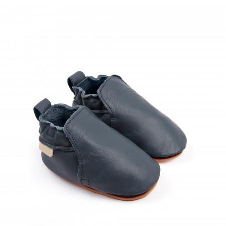 HAGEN   Navy Leather