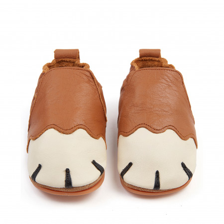PAWS | Cognac Leather