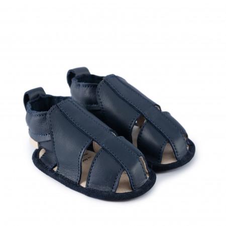 RIDGE   Navy Leather