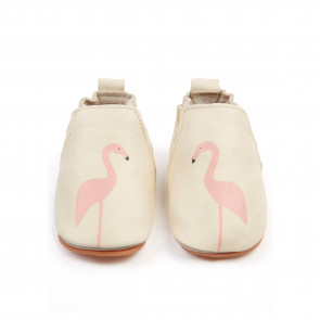 RIO | Flamingo - Cream Leather
