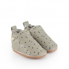 HAGEN DOT | Pale Grey Leather