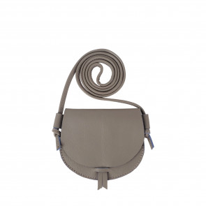 HICKY PURSE | Grey Leather