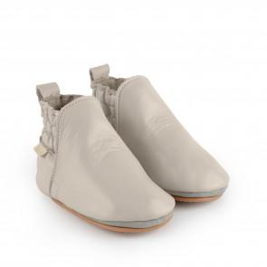 ILAN   Pale Grey Leather