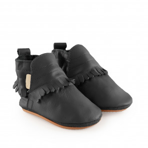 ROMY   Black Leather