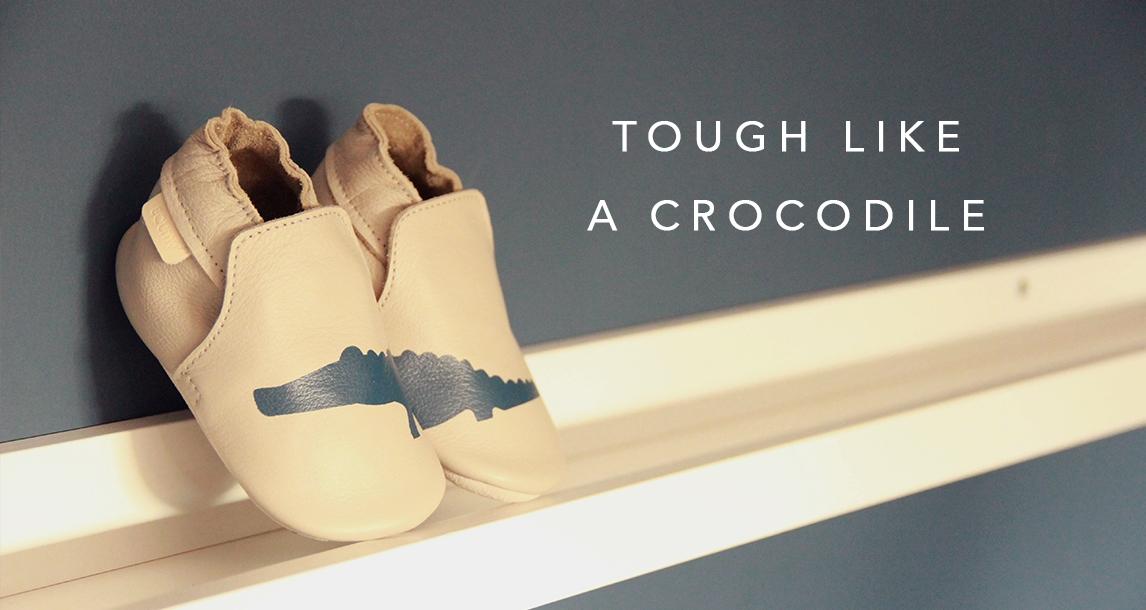 Tough like a crocodile